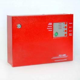 Прибор приемно-контрольный пожарный «ПС4-МС»